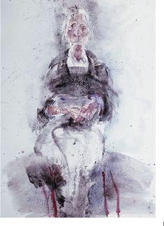 """ My mother"" Artist: Chronis Botsoglou Completion Date: 1983 Style: Expressionism Genre: portrait. Art Database, Sculpture, Conceptual Art, Printmaking, Greece, Fine Art, Portrait, Photography, Paintings"