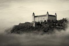 Castle in the Air - Bratislava castle #Slovakia