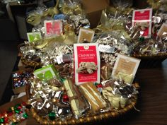 Show your clients and partners what they mean to you with a corporate gift basket of homemade Cynfulie's Chocolates.