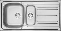 ideas for kitchen sink undermount double stainless steel Stainless Steel Double Sink, Undermount Stainless Steel Sink, Undermount Sink, Stainless Kitchen, Black Ikea Kitchen, Green Kitchen Walls, Blue Kitchen Decor, Best Kitchen Sinks, Cool Kitchens