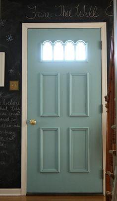 How to weatherstrip a door.