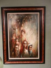 Vintage Armand Lourenco Oil on Linen Painting- link http://www.rubylane.com/item/522414-ls002275/Vintage-Armand-Lourenco-Oil-Linen