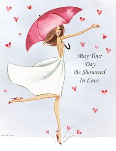 Que o seu dia seja regado em amor ❤