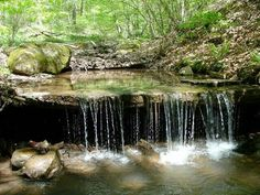 Anthony Creek in West Virginia by Jim Jackson