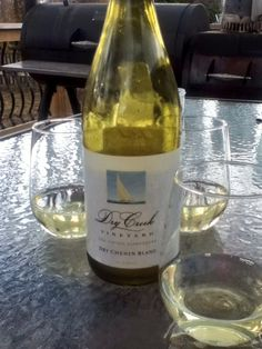 Spring evening on the deck with Dry Creek Dry Chenin Blanc! With Mazur Mazur Titsworth Butler Chenin Blanc, First Down, Dry Creek, Wine Art, Summer Evening, Wine Drinks, Drinking Water, Cigar, Butler