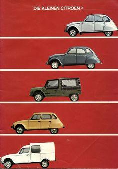 ღღ Ah... memories!!!  ~~~ Citroen 2CV brochure • citroen 2CV