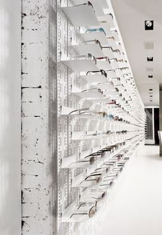 Options | Retail Design | Eyeware | Glasses Display |  MYKITA store