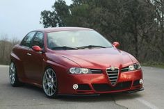 Alfa 156 restyling