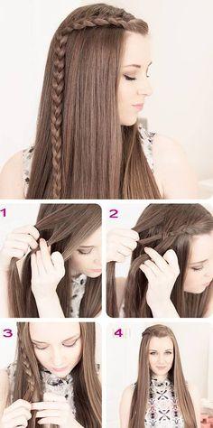 прическа длинные волосы