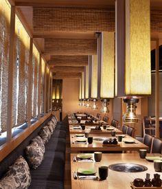 Aydınlatma ve Dekor Dünyasından Gelişmeler: Golucci International Design'dan Pekin'de Matsumoto Restaurant #aydinlatma #lighting #design #tasarim #dekor #decor