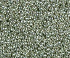 Miyuki Rocaille Seed Beads 10 Grams Duracoat 8RR4201 Silver