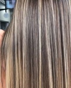 - All For Hair Color Balayage Brown Hair With Blonde Highlights, Brown Blonde Hair, Hair Highlights, Natural Ash Blonde, Chunky Highlights, Caramel Highlights, Color Highlights, Blonde Wig, Gray Hair