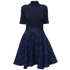Blue New Look, Knee-Length Dress