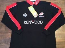 5ac2965ac1f 1999 2000 Saracens BNWT New L/s Rugby Union Shirt Adults XL Jersey Rugby  Shirts