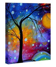 Look at this #zulilyfind! Madart Inc. Winter Sparkle Wrapped Canvas #zulilyfinds
