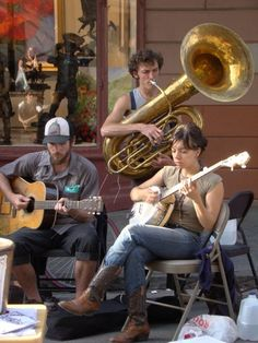 Loved the street bands in New Orleans!