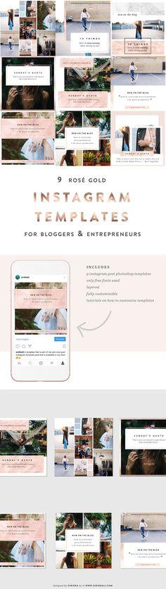 131 best Social media templates images on Pinterest in 2018 | Social ...