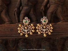 Indian Antique Jewellery Designs, Indian Antique Jewellery Earrings Designs, Indian Gold Antique Jewellery Collections.