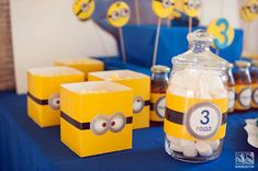 MINIONS Birthday Party Ideas | Photo 1 of 27 | Catch My Party