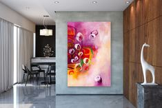This item is unavailable Office Paint, Office Wall Art, Eclectic Decor, Modern Decor, Modern Design, Princess Room Decor, Modern Oil Painting, Minimal Decor, Affordable Home Decor