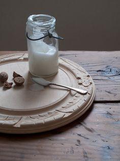 hand carved english bread board by cottagefarm.etsy.com