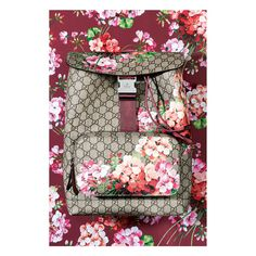 GG Blooms Supreme Canvas Backpack
