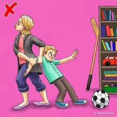 8 χρυσές συμβουλές για να σας ακούει το παιδί χωρίς να φωνάζετε Kids Behavior, New Life, Classroom Management, Parenting, Comics, Children, Babies, Health, Mean Jokes