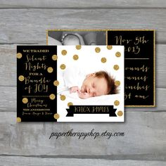Hey, I found this really awesome Etsy listing at https://www.etsy.com/listing/169320047/christmas-holiday-birth-announcement