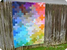 Ruby Blue Quilting Studio: Trying something new