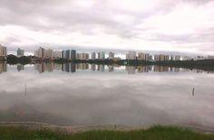 Uma Cidade no espelho! São Luis. Créditos: Joseth Melo.