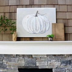 These festive fall mantels prove you don't have to break the bank in order to welcome autumn indoors.