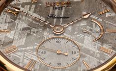 Bovet Amadeo Fleurier 43 Meteorite Watch (detail)