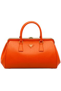 Prada Fall 2012 Saffiano Bauletto Bag as seen on Diane Kruger