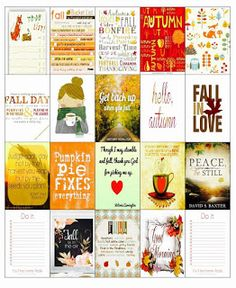 FREE Fall/Autumn Stickers for MAMBI Happy Planner - Happy Craft Jackie