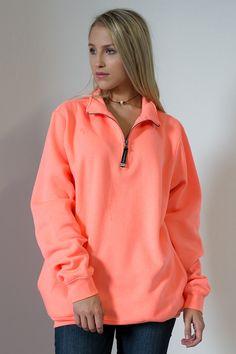 Clever Quarter Zip Sweatshirt