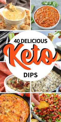 Here are over 35 easy delicious keto dips. Perfect as an apppetizer or snack the… Here are over 35 easy delicious keto dips. Perfect as an apppetizer or snack these delicious keto friendly dips are a guaranteed hit. Keto Foods, Keto Diet Drinks, Keto Approved Foods, Diet Snacks, Ketogenic Recipes, Diet Recipes, Diet Menu, Diabetic Snacks, Lunch Recipes