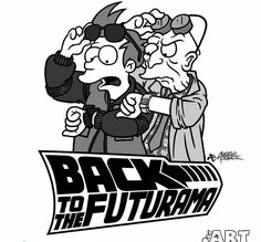 Futurama x Back to the Future