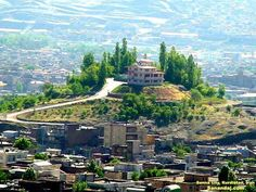 Beautiful Sinê, Kurdistan Province, Iran.