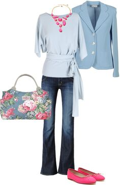 """Spring Colors"" by pamnken on Polyvore"