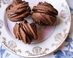 Chocolate mousse melting moments recipe