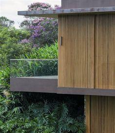 wooden facade #architecture #Brazil #arquitetura