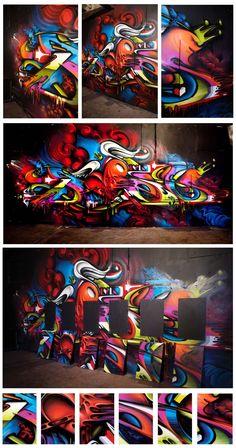 Off the wall grafitti