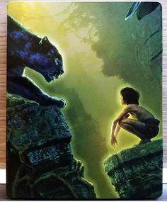 "Steelbook Bluray ""Livre de la jungle"""