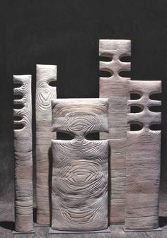patternprints journal: PRACHTIG OPPERVLAKKEN en texturen in hout sculpturen van THIERRY MARTENON:
