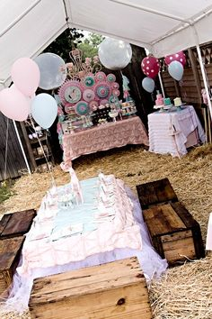 Shabby Chic Party Ideas