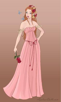 Wedding-Dress - Giselle by on DeviantArt Disney Princess Fashion, Disney Princess Art, Disney Princess Pictures, Disney Fan Art, Robes Disney, Disney Enchanted, Doll Divine, Medieval Dress, Disney Drawings