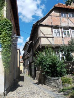 The city has 1,300 half-timbered houses included onto the UNESCO World Heritage.