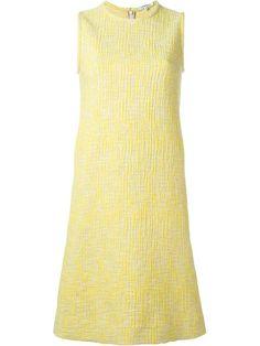 CARVEN Tweed Shift Dress. #carven #cloth #dress