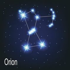 Orion was named after a hunter in greek mythology.  The three stars that seem to make his belt are known as Orion's Belt.  Orion is the 26th largest of the 88 constellations, and is located on the celestial equator.