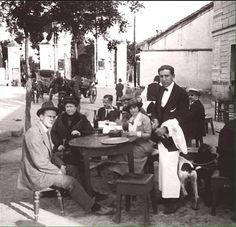 1914 - Merendero en Puerta de Hierro (Madrid). #arteparaempresa #activate #sueña #Madrid #madridmola